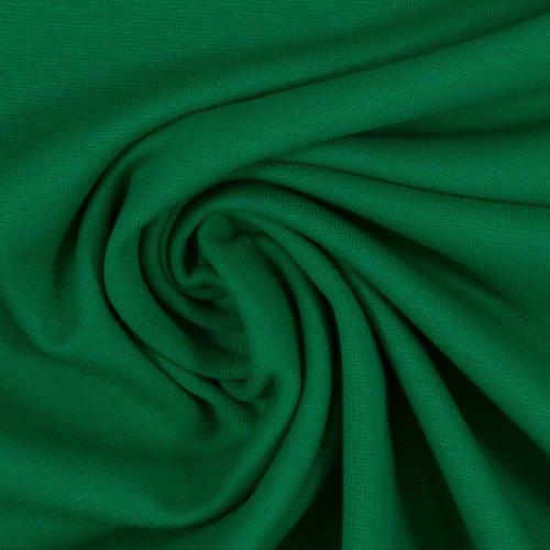 Bündchen Stoff Heike von Swafing, Schlauchware 000365 uni, grasgrün