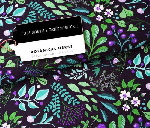 Albstoffe Performance - Herbs von Hamburger Liebe
