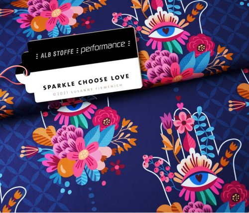 Albstoffe Performance - Choose Love von Hamburger Liebe