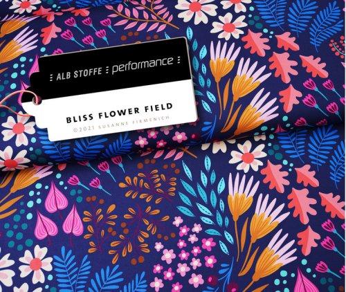 Albstoffe Performance - Flower Fields von Hamburger Liebe