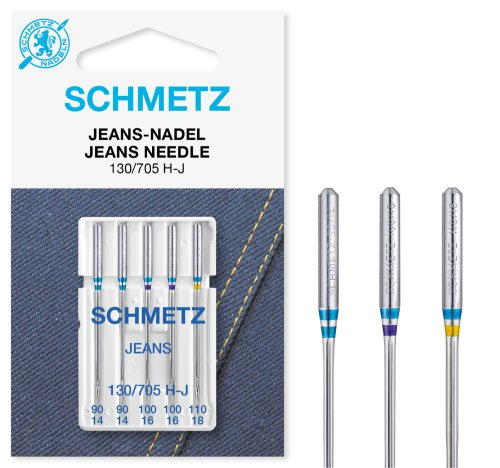 SCHMETZ Jeans-Nadel 130/705 H-J SB5 90-110