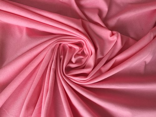 Albstoffe Elastischer Bio Single Jersey Rosa
