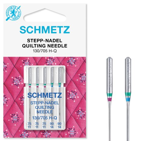 SCHMETZ Quilt-Nadeln (Stepp-Nadeln) Nadeldicke 75/11-90/14