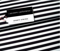 Albstoffe Performance - Sporty Stripes von Hamburger Liebe