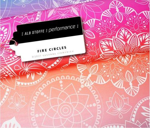 Albstoffe Performance - Fire Circles von Hamburger Liebe