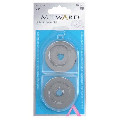Ersatzklingen für Milward Rollschneider 45 mm
