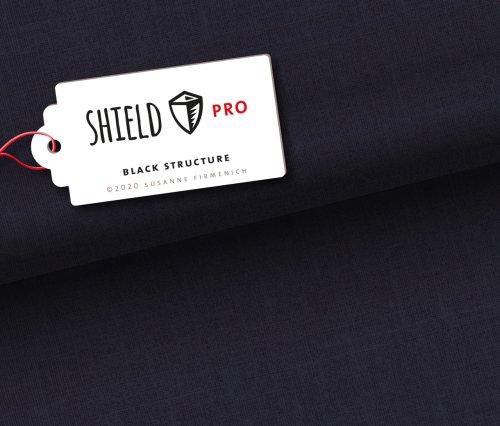 Albstoffe Shield Pro Uni Structure Schwarz