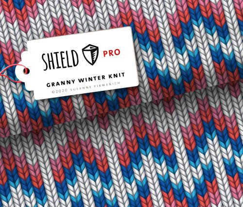 Albstoffe Shield Granny Winter Knit