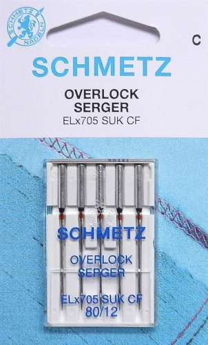 SCHMETZ Overlock-Nadel EL x 705 SUK SB5 80-90