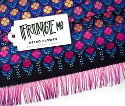 Albstoffe Fringe ME - Retro Flower von Hamburger Liebe